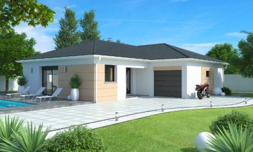 Modèle de maison individuelle 120.14m² 4 chambre(s)