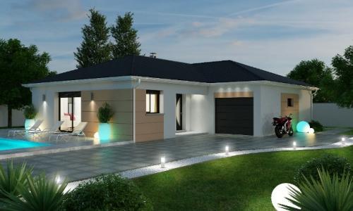Modèle de maison individuelle 80m² 3 chambre(s)